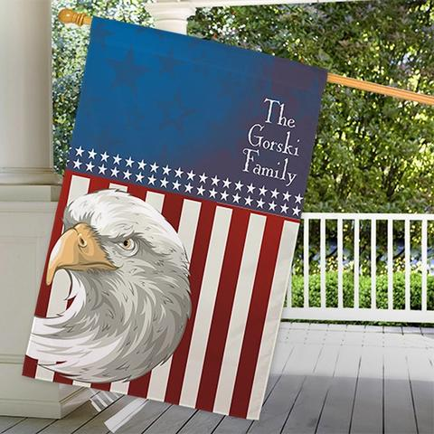 Personalized High Quality Outdoor Decorative House Flags